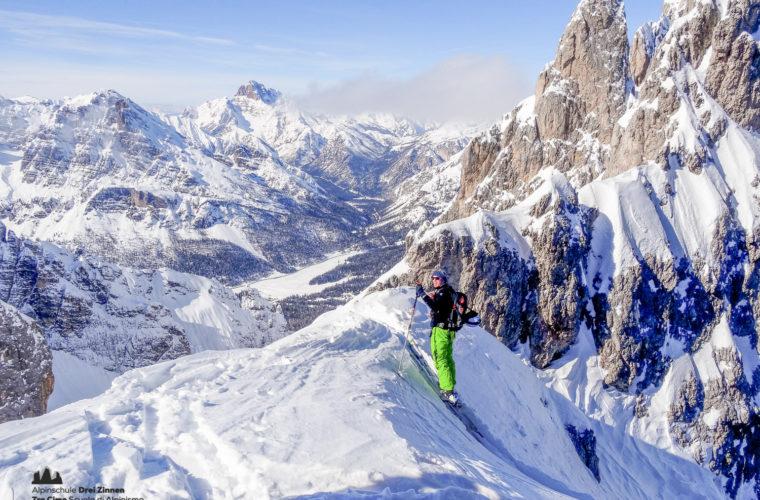 Skitour Cortina, Cadini freeride-10