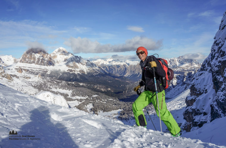 Skitour Cortina, Cadini freeride-4