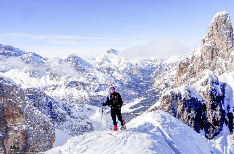 Skitour Cortina, Cadini freeride-8