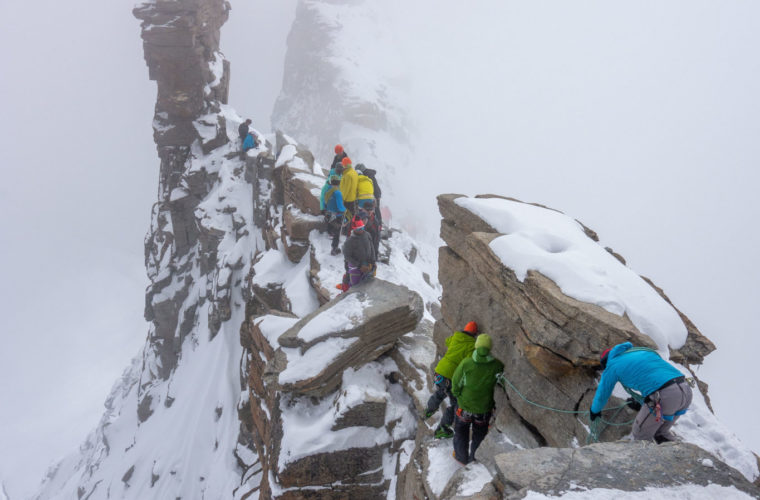 Skitour Gran Paradiso sci d'alpinismo (10)