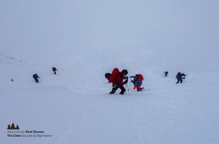 Skitour Gran Paradiso sci d'alpinismo (12)