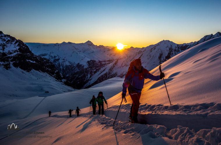 Skitour Gran Paradiso sci d'alpinismo (3)