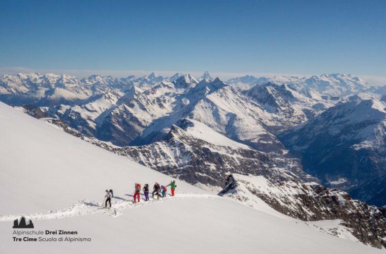 Skitour Gran Paradiso sci d'alpinismo (5)