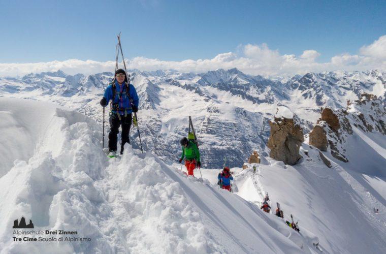 Skitour Gran Paradiso sci d'alpinismo (6)