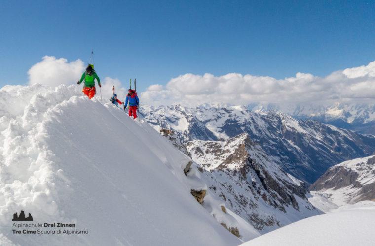 Skitour Gran Paradiso sci d'alpinismo (7)