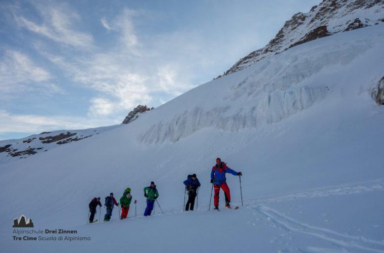 Skitour Gran Paradiso sci d'alpinismo (9)