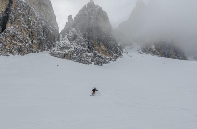 Skitour Mittagstal Val Mesdi Alpinschule Drei Zinnen freeride (1)