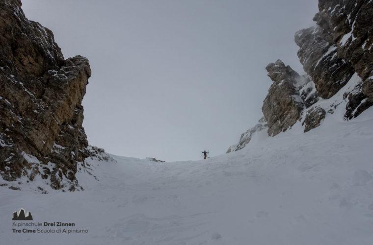 Skitour Mittagstal Val Mesdi Alpinschule Drei Zinnen freeride (2)