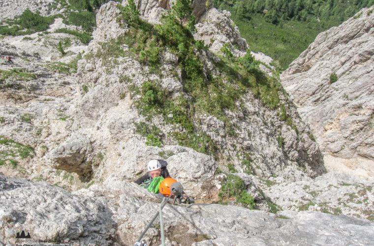 via ferrat Sas de Stria Hexenstein Klettersteig Alpinschule Drei Zinnen-1