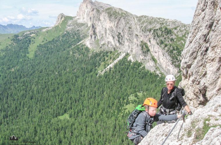 via ferrat Sas de Stria Hexenstein Klettersteig Alpinschule Drei Zinnen-2