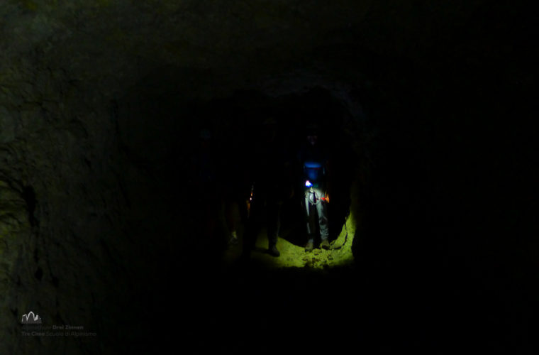 via ferrat Sas de Stria Hexenstein Klettersteig Alpinschule Drei Zinnen-21