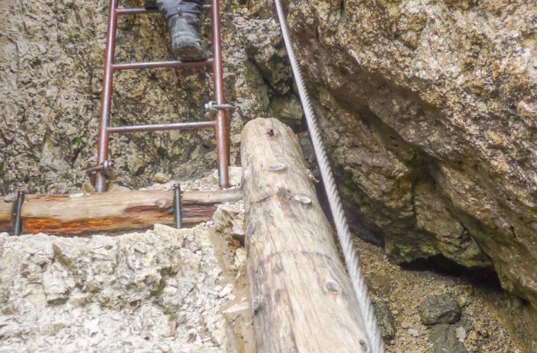 via ferrat Sas de Stria Hexenstein Klettersteig Alpinschule Drei Zinnen-25