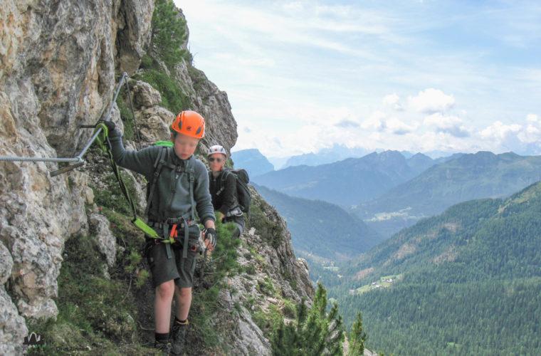 via ferrat Sas de Stria Hexenstein Klettersteig Alpinschule Drei Zinnen-3