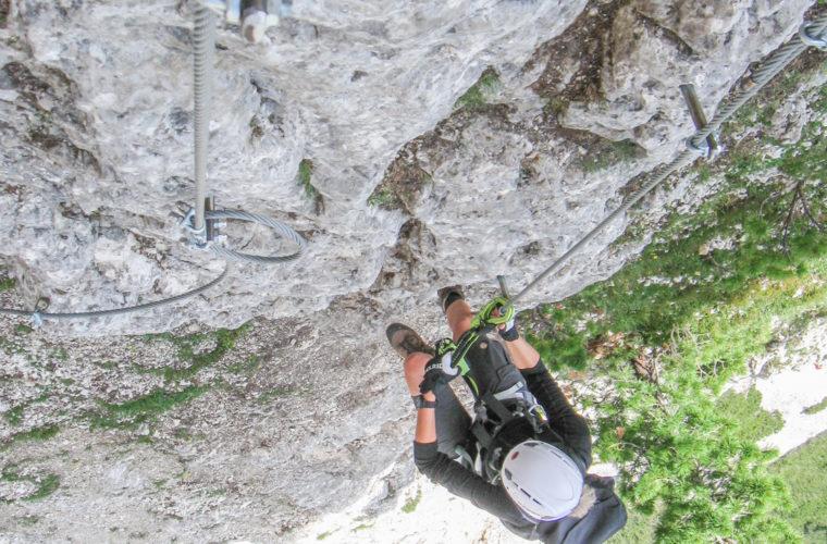 via ferrat Sas de Stria Hexenstein Klettersteig Alpinschule Drei Zinnen-6