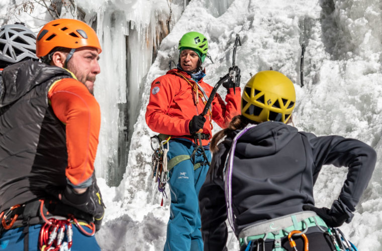 Eisklettern - arrampicata su ghiaccio - ice climbing - Alpinschule Drei Zinnen 2020 (18)