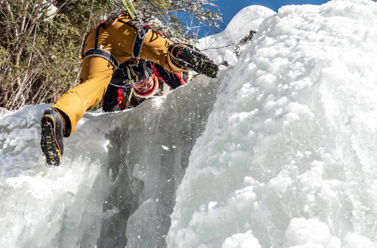 Eisklettern - arrampicata su ghiaccio - ice climbing - Alpinschule Drei Zinnen 2020 (26)