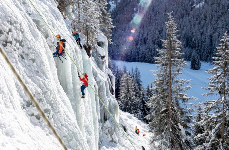 Eisklettern - arrampicata su ghiaccio - ice climbing - Alpinschule Drei Zinnen 2020 (27)