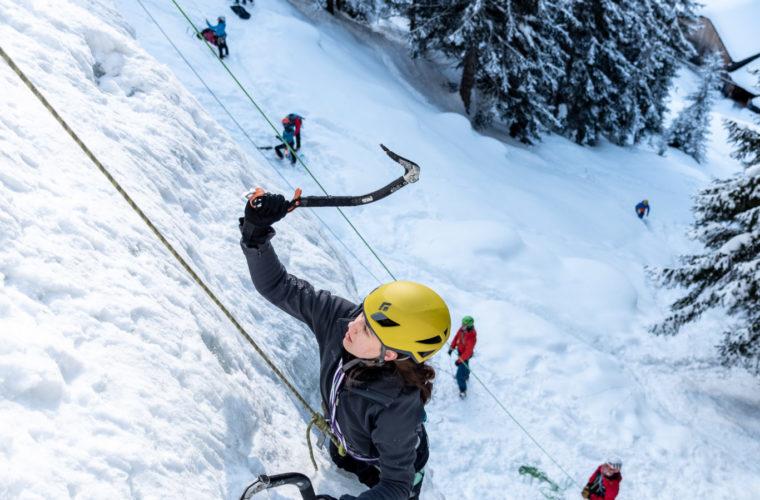 Eisklettern - arrampicata su ghiaccio - ice climbing - Alpinschule Drei Zinnen 2020 (29)