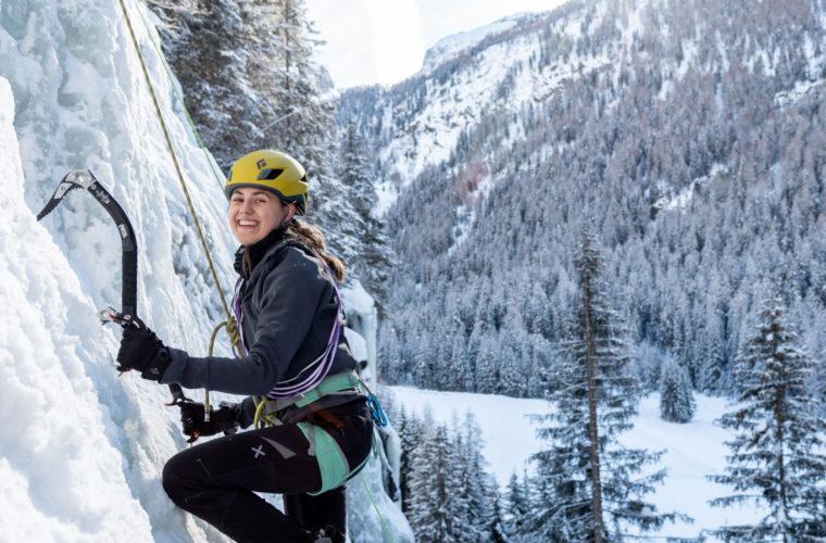 Eisklettern - arrampicata su ghiaccio - ice climbing - Alpinschule Drei Zinnen 2020 (30)