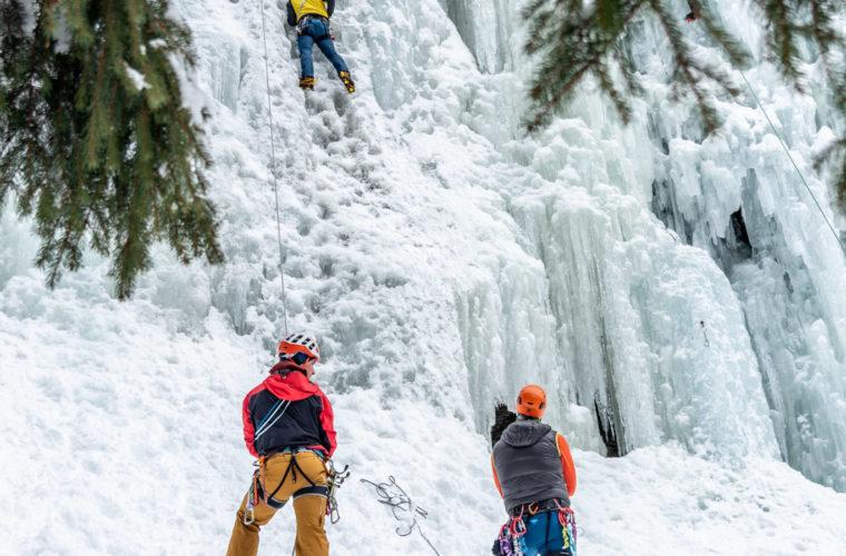 Eisklettern - arrampicata su ghiaccio - ice climbing - Alpinschule Drei Zinnen 2020 (35)