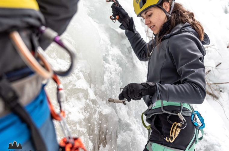 Eisklettern - arrampicata su ghiaccio - ice climbing - Alpinschule Drei Zinnen 2020 (39)