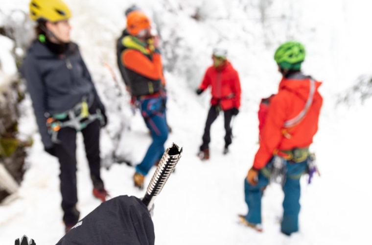 Eisklettern - arrampicata su ghiaccio - ice climbing - Alpinschule Drei Zinnen 2020 (40)