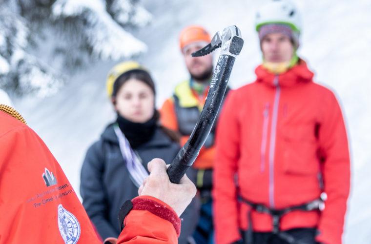Eisklettern - arrampicata su ghiaccio - ice climbing - Alpinschule Drei Zinnen 2020 (7)