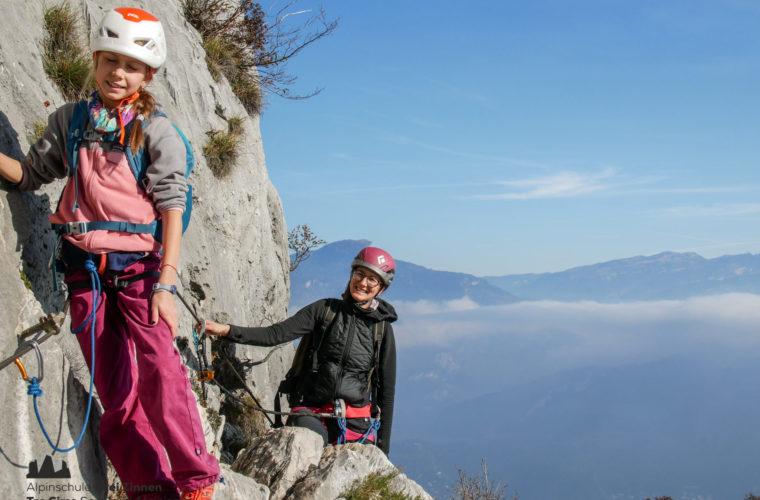Klettersteig Via Ferrata Arco Gardasee Woche - Alpinschule Drei Zinnen (4)