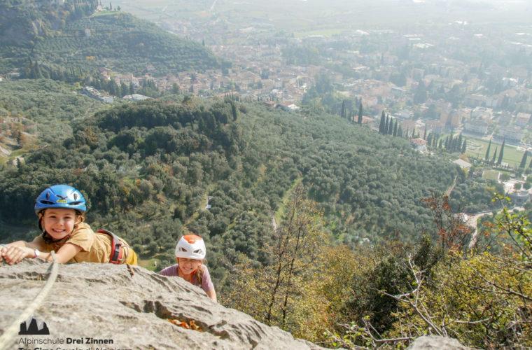 Klettersteig Via Ferrata Arco Gardasee Woche - Alpinschule Drei Zinnen (5)