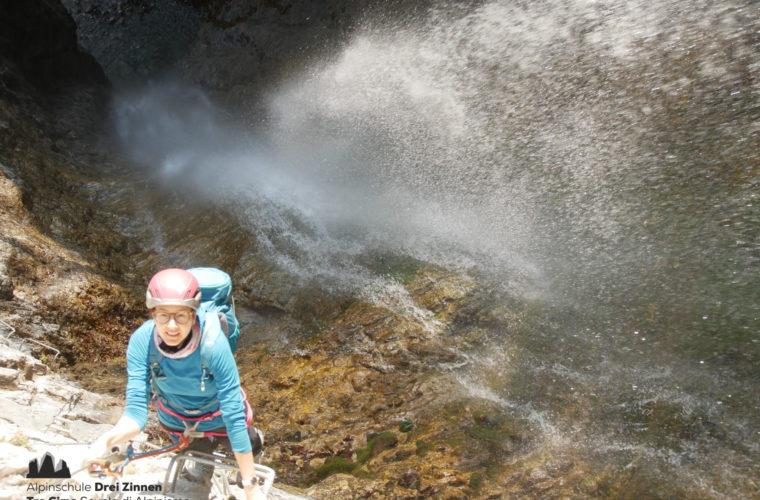 Klettersteig Via Ferrata Arco Gardasee Woche - Alpinschule Drei Zinnen (9)