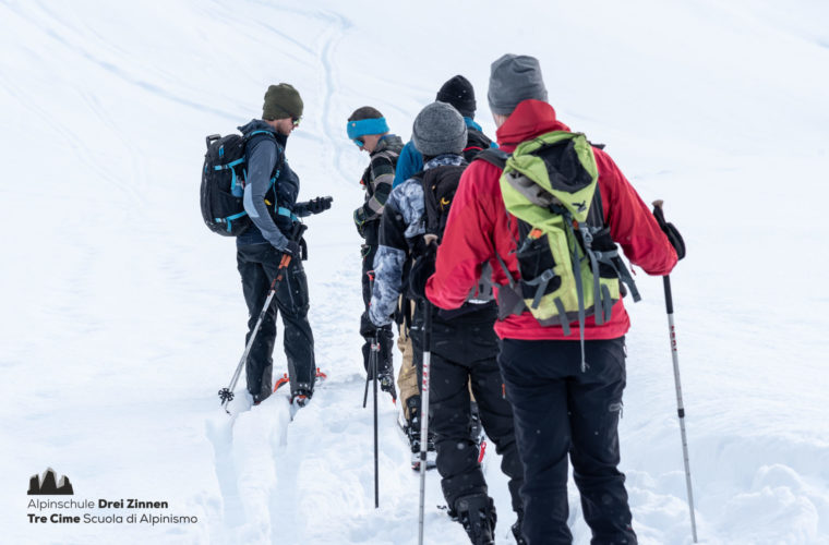 Lawinencoaching - corso valanghe - avalanche training - Alpinschule Drei Zinnen 2020 (12)