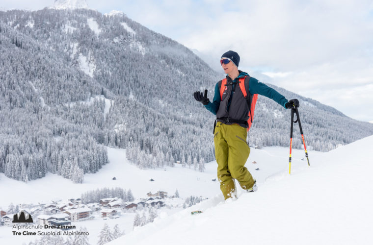 Lawinencoaching - corso valanghe - avalanche training - Alpinschule Drei Zinnen 2020 (13)