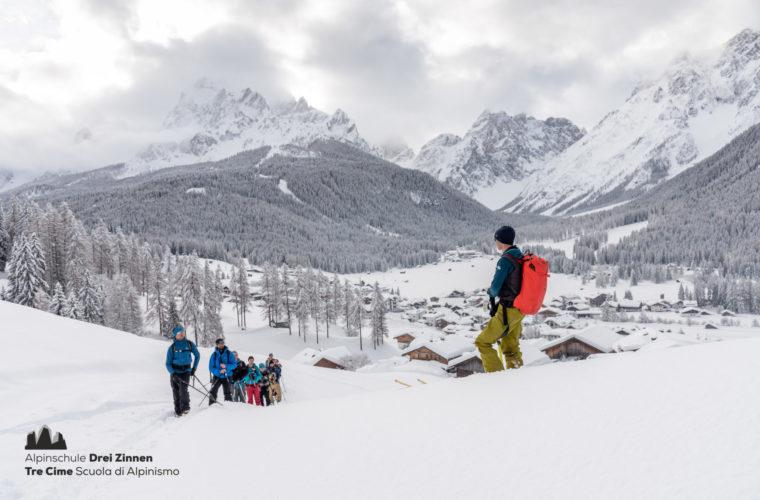 Lawinencoaching - corso valanghe - avalanche training - Alpinschule Drei Zinnen 2020 (14)
