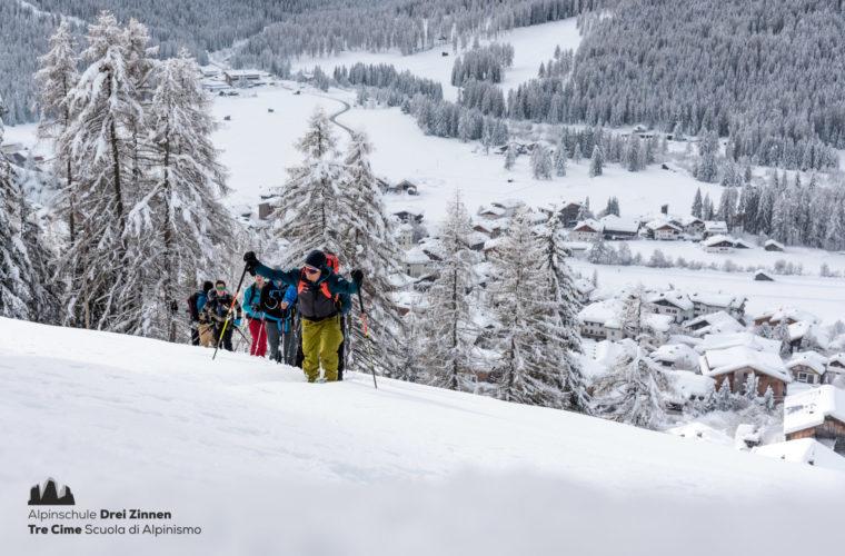 Lawinencoaching - corso valanghe - avalanche training - Alpinschule Drei Zinnen 2020 (16)