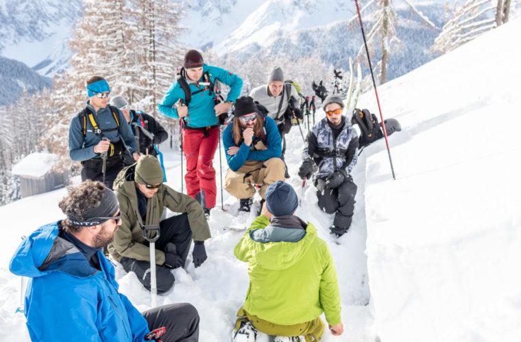 Lawinencoaching - corso valanghe - avalanche training - Alpinschule Drei Zinnen 2020 (19)