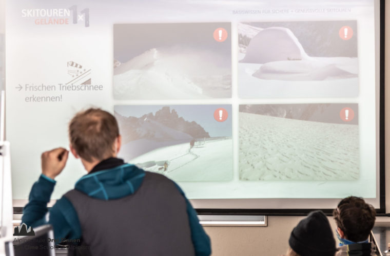 Lawinencoaching - corso valanghe - avalanche training - Alpinschule Drei Zinnen 2020 (2)