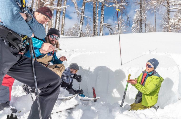 Lawinencoaching - corso valanghe - avalanche training - Alpinschule Drei Zinnen 2020 (20)