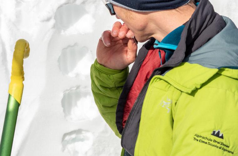 Lawinencoaching - corso valanghe - avalanche training - Alpinschule Drei Zinnen 2020 (21)