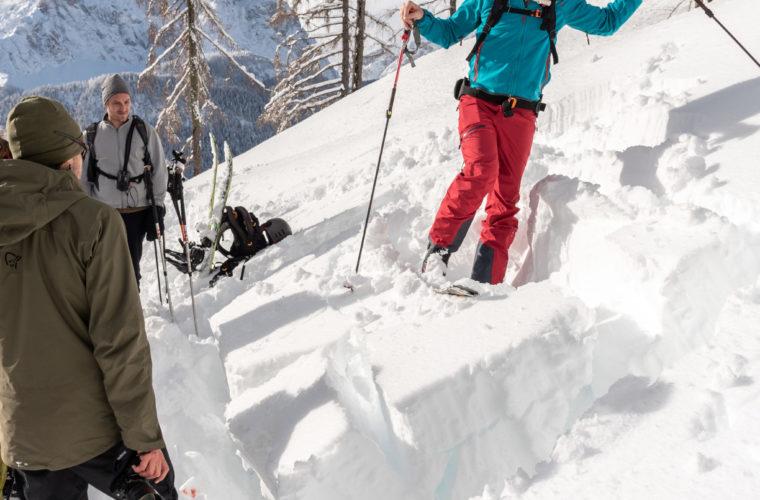 Lawinencoaching - corso valanghe - avalanche training - Alpinschule Drei Zinnen 2020 (25)