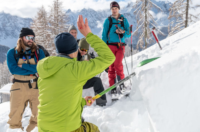 Lawinencoaching - corso valanghe - avalanche training - Alpinschule Drei Zinnen 2020 (26)