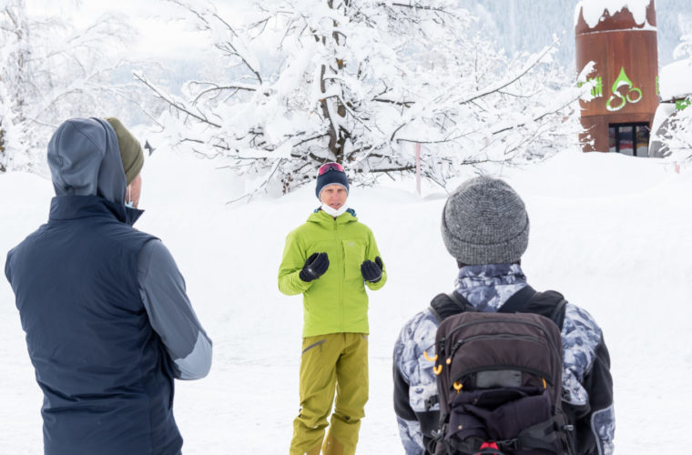 Lawinencoaching - corso valanghe - avalanche training - Alpinschule Drei Zinnen 2020 (3)