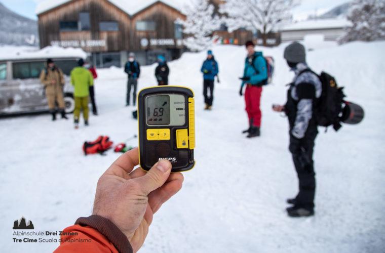 Lawinencoaching - corso valanghe - avalanche training - Alpinschule Drei Zinnen 2020 (4)