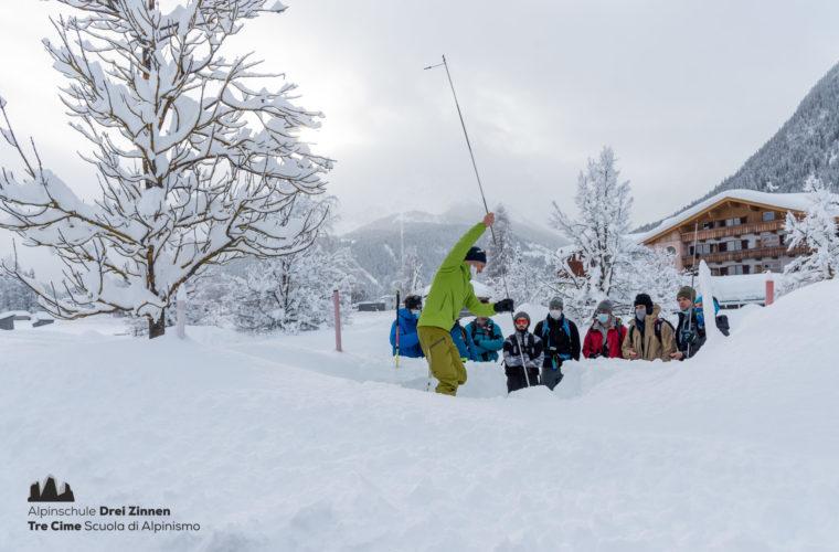 Lawinencoaching - corso valanghe - avalanche training - Alpinschule Drei Zinnen 2020 (6)