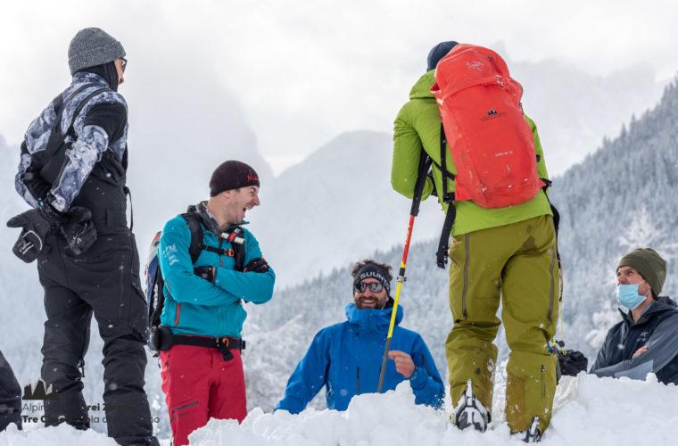 Lawinencoaching - corso valanghe - avalanche training - Alpinschule Drei Zinnen 2020 (9)