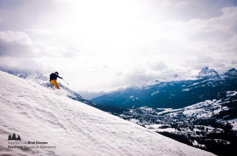 Skitour sci alpinismo - Alpinschule Drei Zinnen Tre Cime Dolomiti (15)