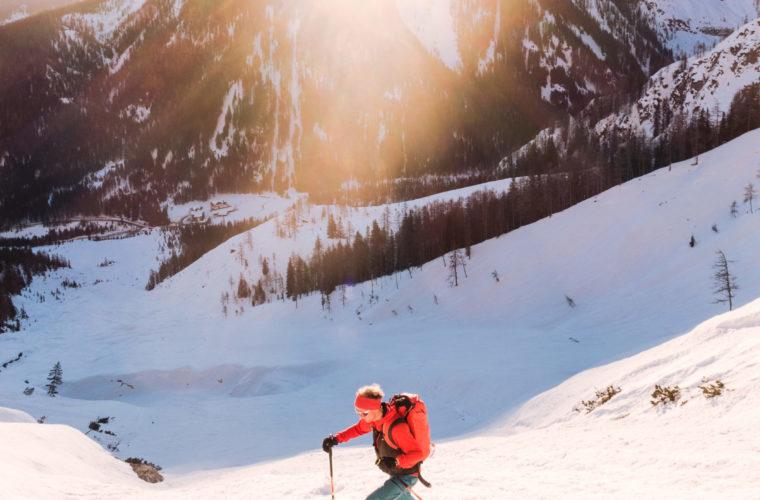 Skitour sci alpinismo - Alpinschule Drei Zinnen Tre Cime Dolomiti (18)