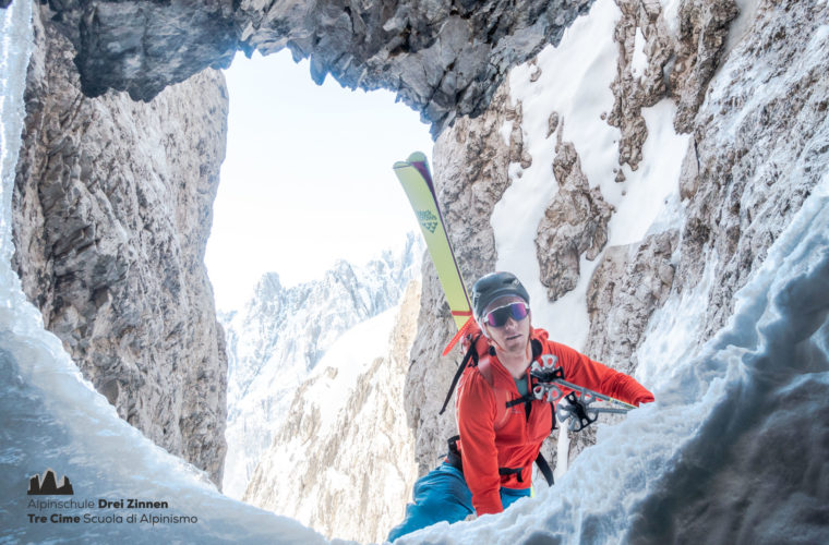 Skitour sci alpinismo - Alpinschule Drei Zinnen Tre Cime Dolomiti (19)
