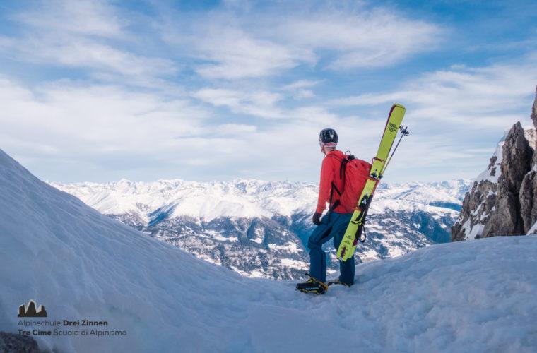 Skitour sci alpinismo - Alpinschule Drei Zinnen Tre Cime Dolomiti (20)
