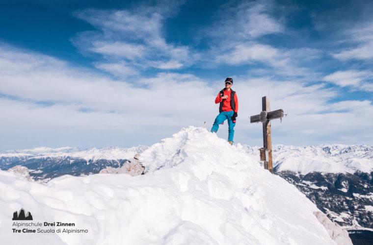 Skitour sci alpinismo - Alpinschule Drei Zinnen Tre Cime Dolomiti (21)