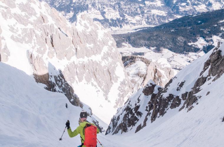 Skitour sci alpinismo - Alpinschule Drei Zinnen Tre Cime Dolomiti (22)